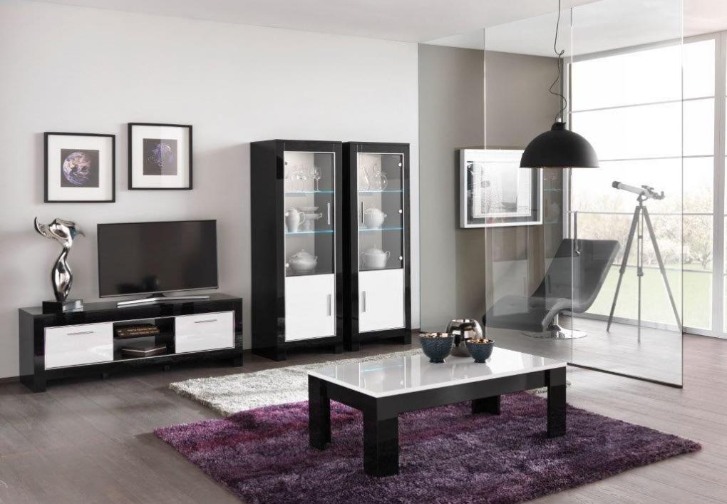 Modena woonkamer zwart wit hoogglans woonkamers elit for Woonkamer wit